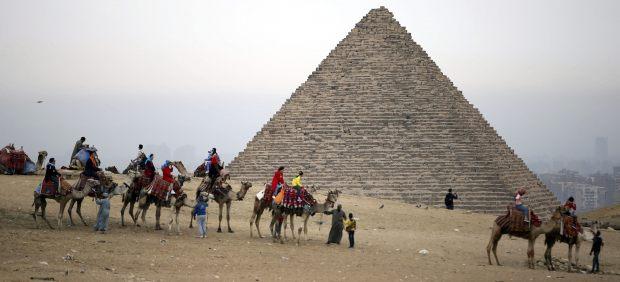 Turismo en las pirámides