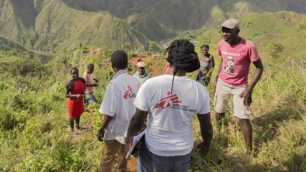 Médicos Sin Fronteras en las montañas de la región suroeste de Haití