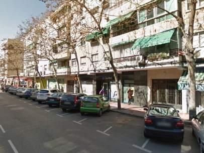 Avenida de los Reyes Católicos en Alcalá de Henares