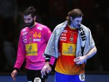 Viran Morros y Rodrigo Corrales