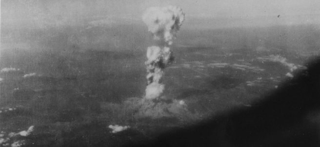 Imagen inédita de la bomba de Hiroshima