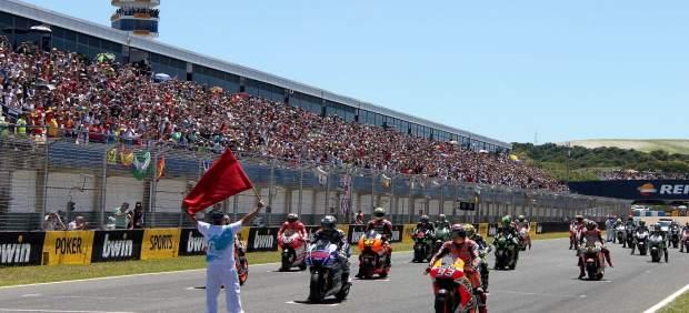 Muere Marcos Garrido, piloto de 14 años, tras pasarle una moto por encima en el Circuito de Jerez