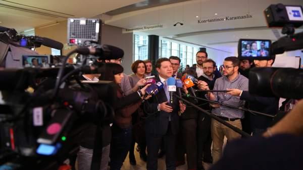 Page en Bruselas