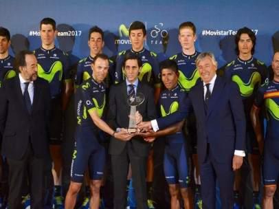 Valverde, López-Blanco, Quintana y Unzué
