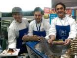 Sergio Garrido, Diego Gallegos y -Jose Carlos Garcia
