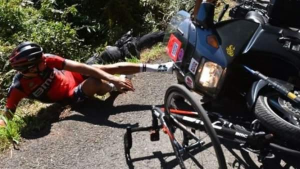 Accidente de ciclista.