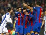 Gol del Barça a la Real Sociedad