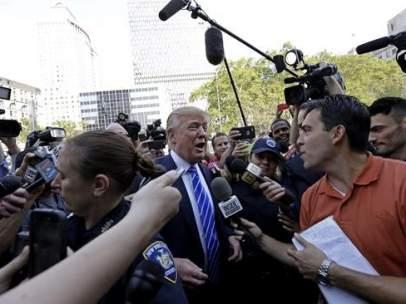 Donald Trump y la prensa