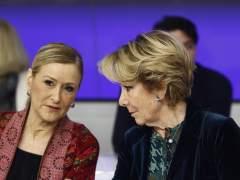 """Cifuentes no ve razones """"objetivas"""" para pedir la dimisión de Aguirre"""