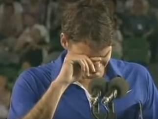 Lágrimas de Federer