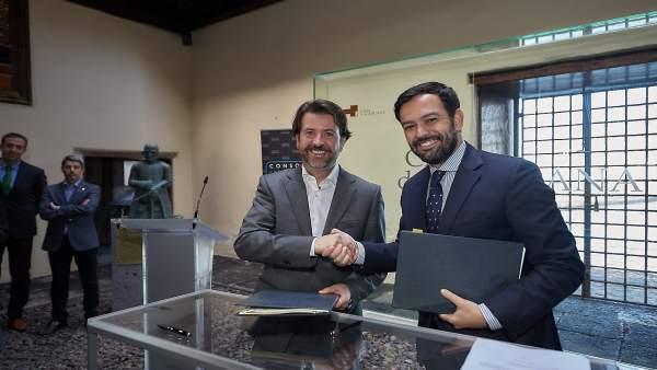 El consorcio de puerto de la cruz tenerife asume la for Convenio oficinas y despachos tenerife
