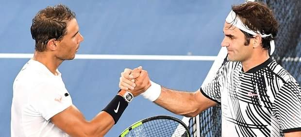 El duelo entre Nadal y Federer en la final de Australia