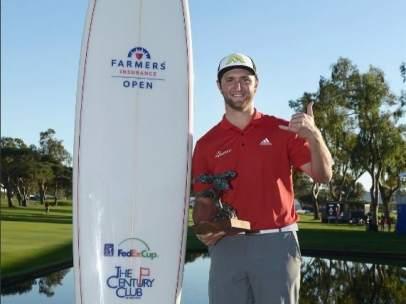 El golfista español Jon Rahm consigue su pimer título profesional en San Diego