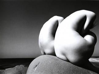 Kishin Shinoyama - Two Curved Figures (from the Twin series), 1969