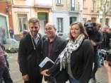 Oriol Lladó, José Téllez y Agnès Rotger