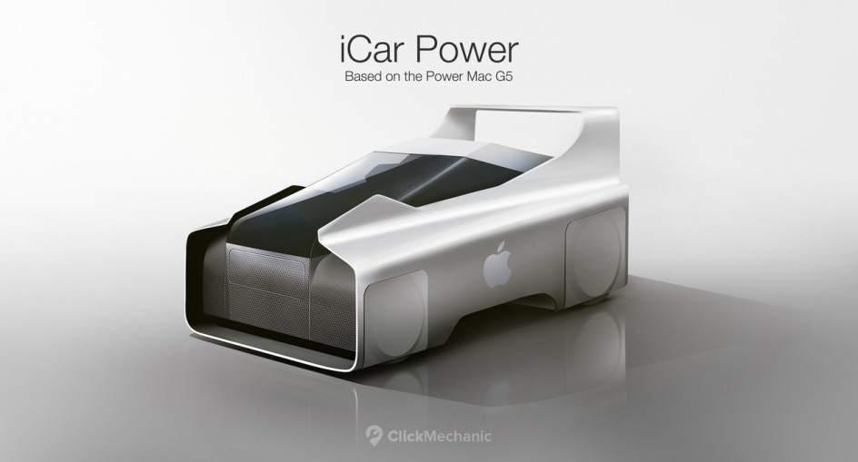 iCar Power. El iCar Power está inspirado en el PowerBook G5. Se trata de un vehículo potente, robusto y de aspecto industrial. Ideal para transportar cargas pesadas.