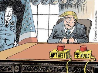 Las mil y una caricaturas de Trump