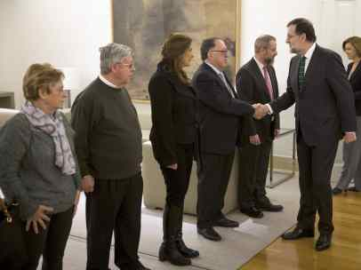 Rajoy, con la Asociación de Víctimas del Yak-42