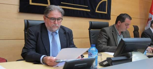 Tomás Tenza en la Comisión de Investigación del HUBU