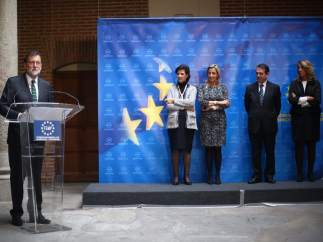Rajoy ensalza a Rita Barberá