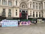 Manifestación de empresarios del circo
