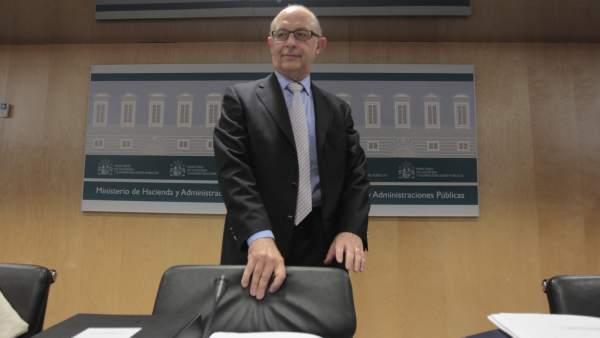 Cristóbal Montoro, en el CPFF