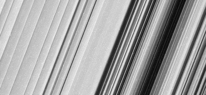 Anillo de Saturno, al detalle