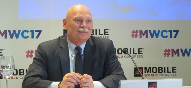 John Hoffman, el consejero delegado de GSMA la asociación que impulsa el Mobile World Congress.