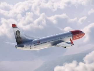 Norwegian incorpora a Rosalía de Castro en sus aviones.