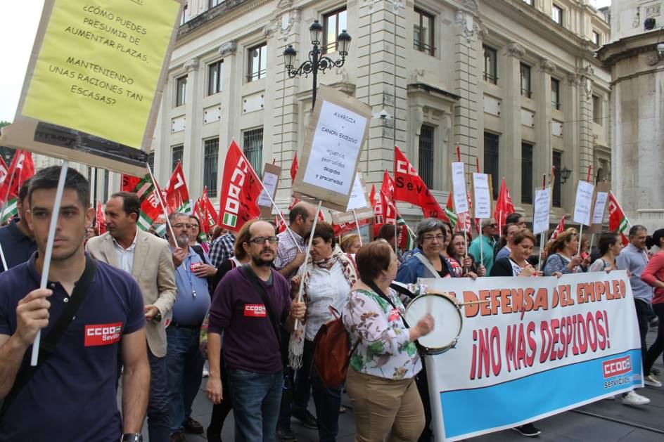 av desconvocada la huelga de los comedores escolares