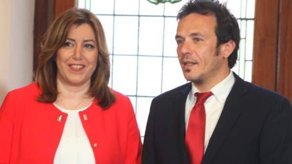 Susana Díaz y José María González Kichi