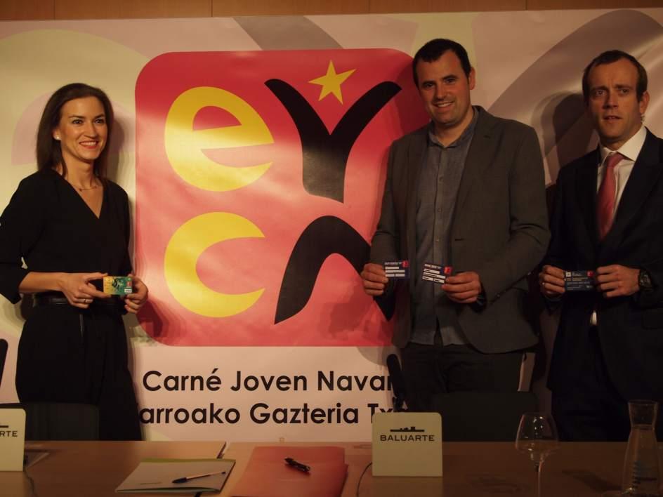 El indj renueva el convenio de carn joven con caja rural for Pisos caja rural navarra