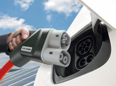 Cargador para coche eléctrico