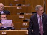 Un eurodiputado laborista llama 'mentiroso' a Nigel Farage