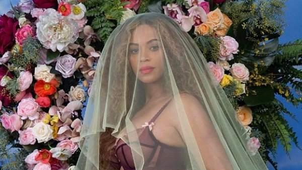 Beyoncé embarazada.