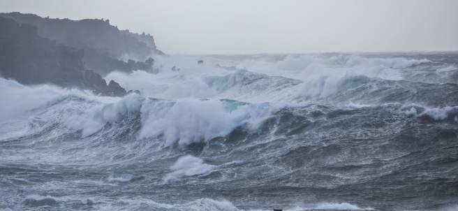 Temporal en el Atlántico
