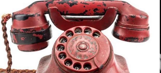 El teléfono rojo de Hitler, subastado.