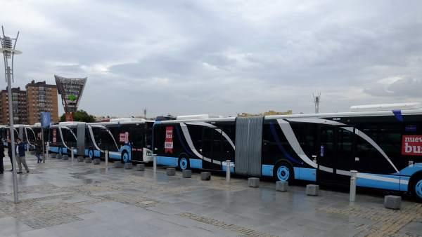 Nuevos autobuses de la EMT