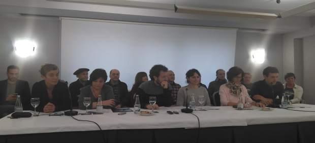 Rueda de prensa para presentar el manifiesto sobre la agresión de Alsasua