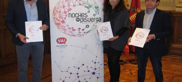 El alcalde, Ana Redondo y el responsable de Pandora