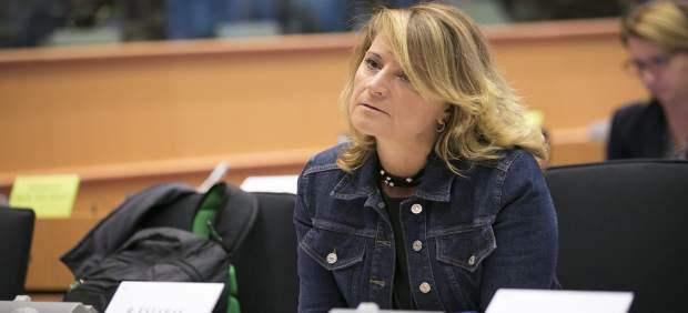 Rosa Estarás en el Parlamento europeo