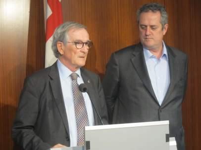 Xavier Trias y Joaquim Forn del PDeCAT