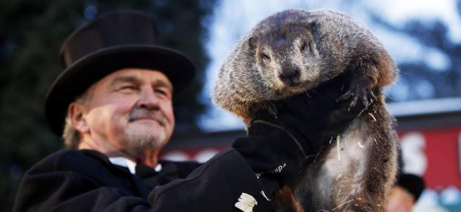 La marmota Phil, en EE UU