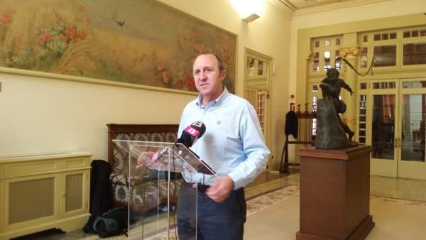 El portavoz socialista, Andreu Alcover