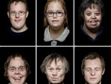Britt Schilling - Six portraits of people with Down's syndrome, 2016