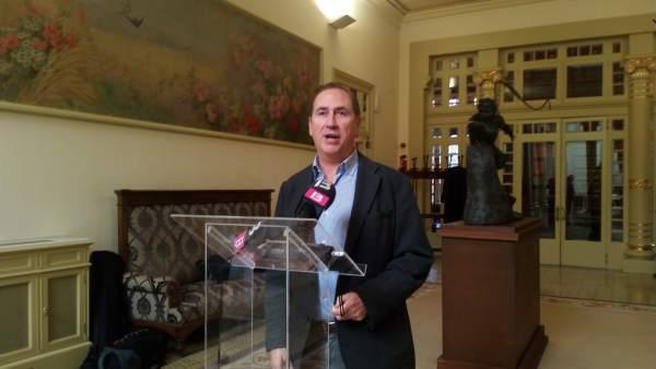 Juan Manuel Lafuente, portavoz adjunto del PP