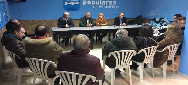 Mercedes Fernández en Villaviciosa