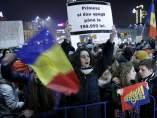 Protestas en Rumanía