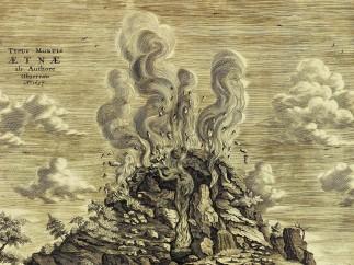 Mount Etna from Mundus Subterraneus
