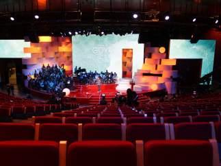 Escenario de los Premios Goya